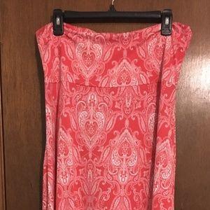 LuLaRoe Maxi Skirt XL